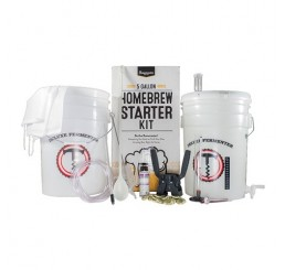 Brewmaster 5 Gallon Beer Starter Kit + Extract Recipe